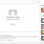 YouTube Lg File Upload